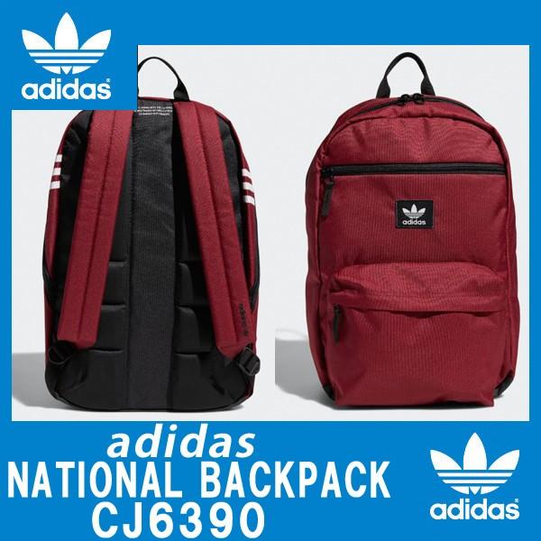 ADIDAS アディダスオリジナルス正規品 バックパック リュックOriginals National Burgundy Backpack Noble  Maroon   14f7dd3d07beb
