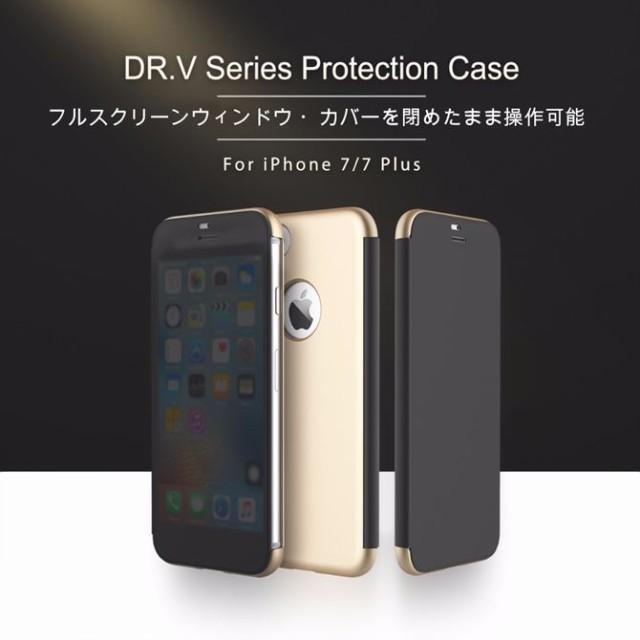 8ed1b794ec iPhone8ケース iPhone8Plus ケース iPhone7 iPhone7 Plus ケース ROCK Dr.V Series Flip Case  アイフォン