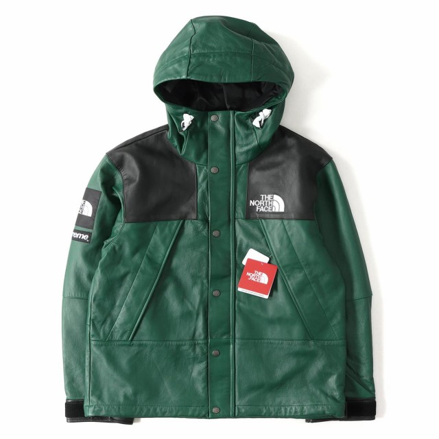 29d9655a1 Supreme (シュプリーム) 18A/W ×THE NORTH FACE レザーマウンテンジャケット(Leather Mountain  Jacket) ナイトグリーン S【K2231】 au Wowma!(ワウマ)