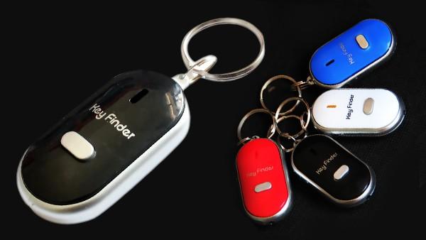 【送料無料】キーファインダー3個セット(カラーランダム)探し物発見機 魔法の口笛 紛失物 貴重品 探す 探知機 受信機 財布カバン