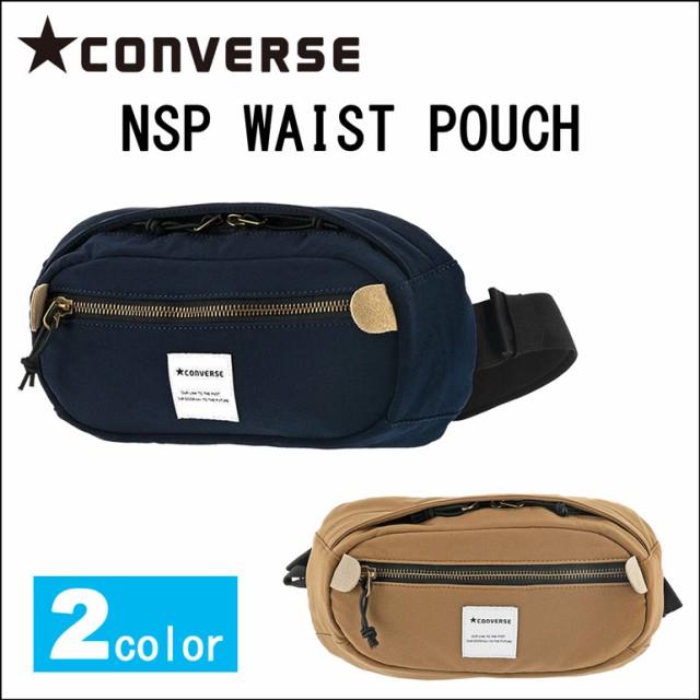 ecde0e7a5145 コンバース ウエストバッグ CONVERSE NSP Waist Pouch ウエストポーチ ボディバッグ 斜めがけ 小さめ 軽量 14031600