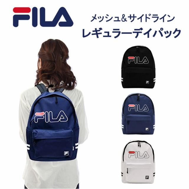 7561b66ec7ea FILA フィラ リュック レディース メンズ バックパック 大容量 リュックサック デイバック メッシュ スポーツ 学生