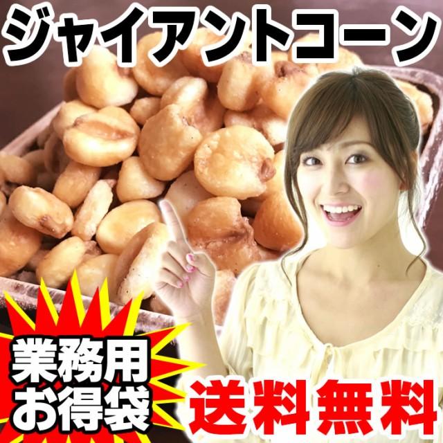 ジャイアントコーン 500g 旨塩仕立て 送料無料 業務用 ナッツ トウモロコシ お試し 厳選素材 高品質な栄養補給 ダイエット