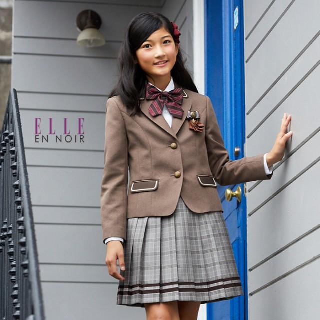 3cd760391471a 50%OFF 卒業式 スーツ 女の子 卒服 4901-2595 格子スカートのブラウン ...