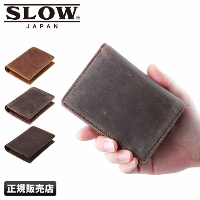 SLOW スロウ 二つ折り財布 ショートウォレット ku...