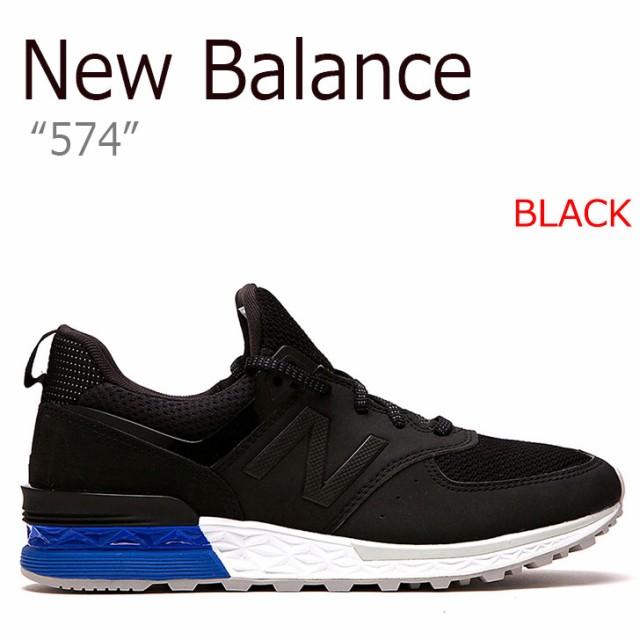 d4903a0d03a1db ニューバランス スニーカー NEW BALANCE 574 メンズ レディース BLACK ブラック MS574SCS シューズ