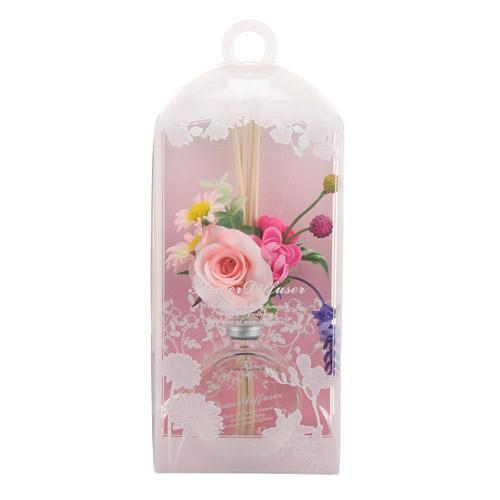 ルームフレグランス 室内芳香剤 フラワーガーデン リードディフューザー アロマオイル 女性誕生日 プレゼント お礼 お返し お祝い