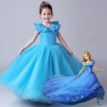 5fcd9e833b170 ディズニープリンセス キッズ シンデレラ ワンピース なりきりワンピース プリンセスドレス 子どもドレス プリンセス