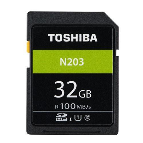 32GB SDHCカード SDカード TOSHIBA 東芝 N203 Class10 UHS-I U1 R:100MB/s 海外
