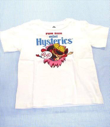 e33c8e6a4ce49 ヒステリックミニ HYSTERIC mini Tシャツ 半袖 120cm 白系 キッズ トップス 男の子 女の子 子供服 通販