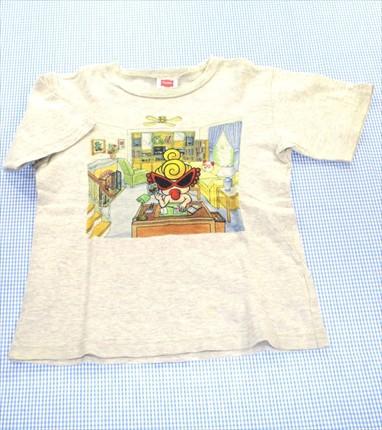 4d47830be5a71 ヒステリックミニ HYSTERIC mini Tシャツ 半袖 120cm グレー系 トップス キッズ 男の子 女の子 子供服
