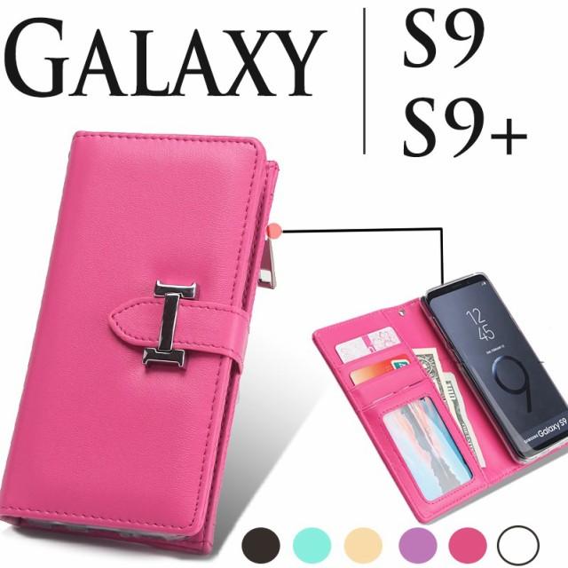 9283a31937 Galaxy S9ケース 手帳型 Galaxy S9+ケース おしゃれ 二つ折り カード収納 かわいい ギャラクシーS9+