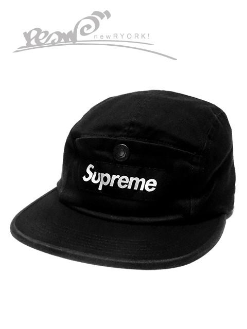 62e1113e2ba 送料無料 メンズ キャップ ブラック Supreme シュプリーム SNAP BUTTON POCKET CAMP CAP FW