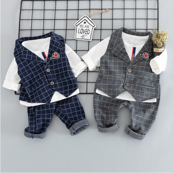 1669dc8e141b46 子供服 男の子 ベビー フォーマル スーツ ベビー服 ロンパース カバーオール 蝶ネクタイ 赤ちゃん 子供 男の子 キッズ 上下