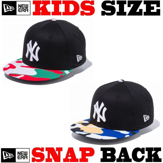 5eb430ccfe4f1 ニューエラ キッズ スナップバック 帽子 NEW ERA KIDS CAP ニューエラー ...