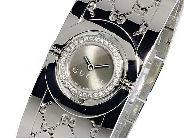 5ad33f78de グッチ 腕時計 レディース GUCCI 時計 ブラウン シルバー 人気 ブランド 女性 ギフト クリスマス プレゼント
