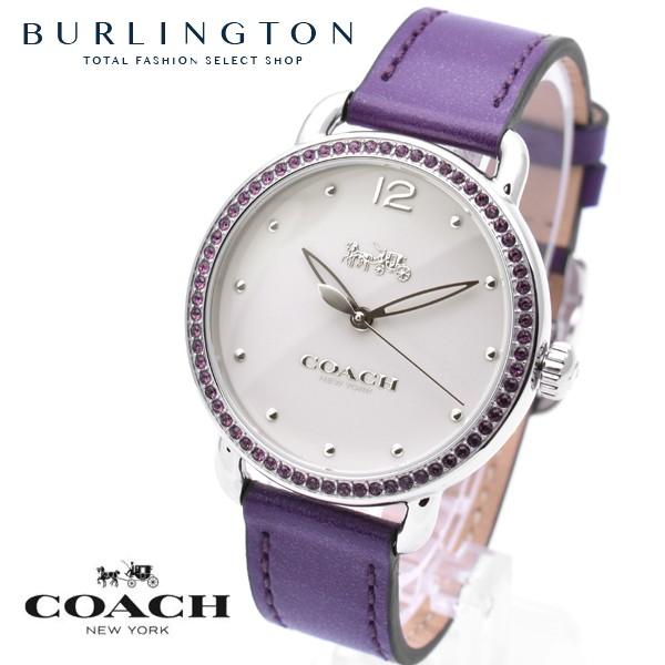 bcfb33082443 コーチ 腕時計 レディース COACH 時計 デランシー パープル 紫 人気 ...