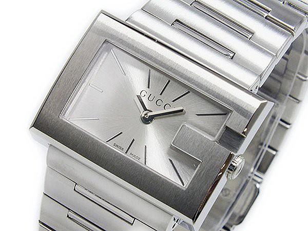 21d6ad7c6cca グッチ 腕時計 レディース GUCCI 時計 Gレクタングル シルバー 人気 ブランド 女性 ギフト クリスマス プレゼント