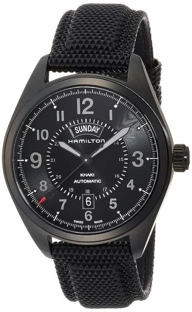 buy popular 11f9a 355fa ハミルトン 腕時計 メンズ HAMILTON カーキフィールド デイデイト 自動巻き H70695735 人気 ブランド 男性 就職祝い ...