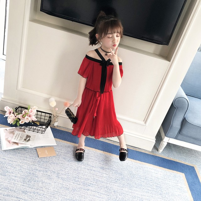 8ed440c51c794 韓国女の子 子供服 半袖 人気服 肩だし キッズ 2点セット 子ども服 上下 ...