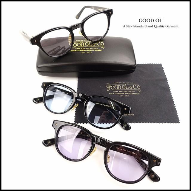 GOOD OL(グッドオル)G-23013 金子眼鏡別注眼鏡 / SCREW