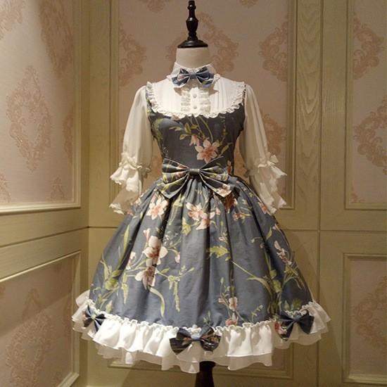ロリータワンピース ロリータドレス Lolita ロリィタ クラシックドレス