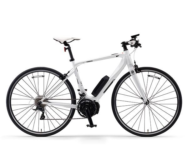 電動自転車 ヤマハ 自転車 YAMAHA 700c YPJ-C_M 格安 激安 クロスバイク 軽量 子供乗せ設置可 電動アシスト自転車 ホワイト 白 本体