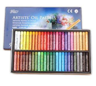 画材 オイルパステル 48色 50本セット ARTISTS OIL PASTELS パステル の世界へ