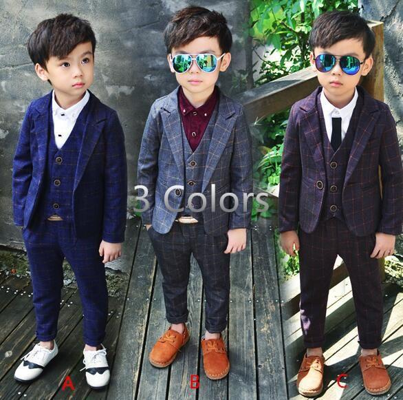 5f22421d5c22a 子供スーツセット 3点セット フォーマル 男の子 長袖 秋冬 韓国子供服 男の子 スーツ