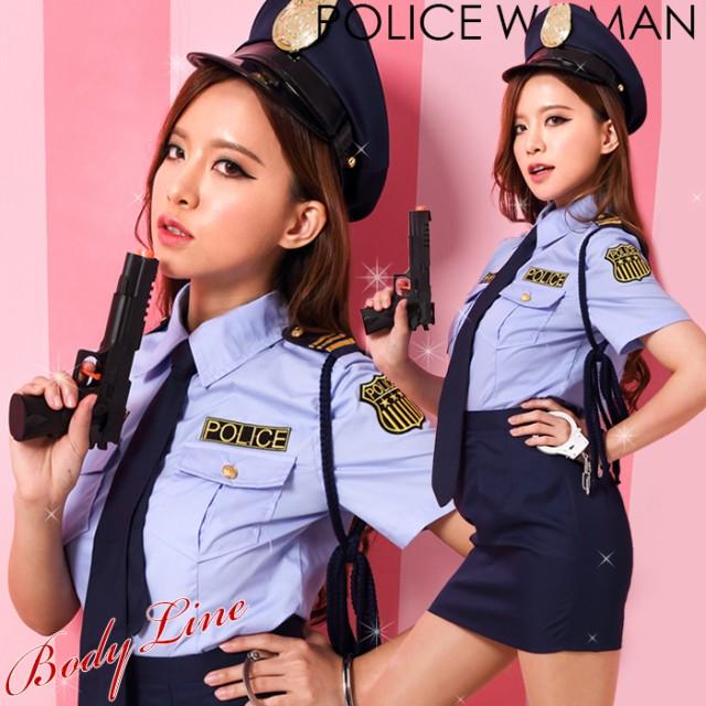 コスプレ コスチューム一式 6点セット ポリス ハロウィン 衣装 costume723