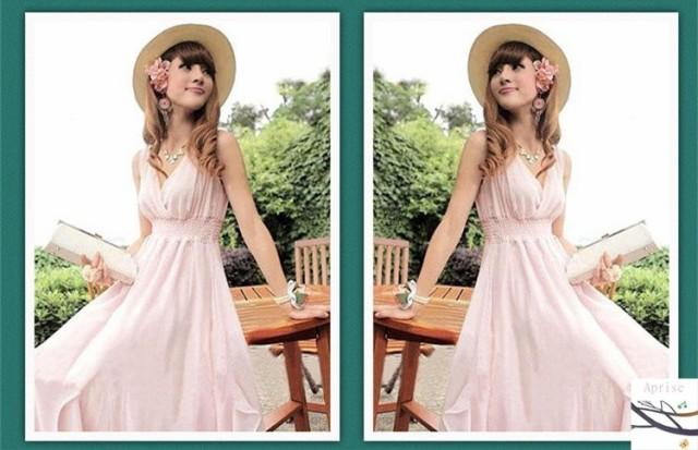 c04eaa4b84f65 フレア ワンピース ロングドレス 上品 ワンピ 無地 Aライン 大人 マキシ丈 ロングワンピース白ワンピース