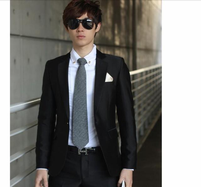 68327fcbd26fa ビジネススーツ メンズフォーマルスーツ 成人式 3ピーススーツ 紳士服 2つボタン 礼服