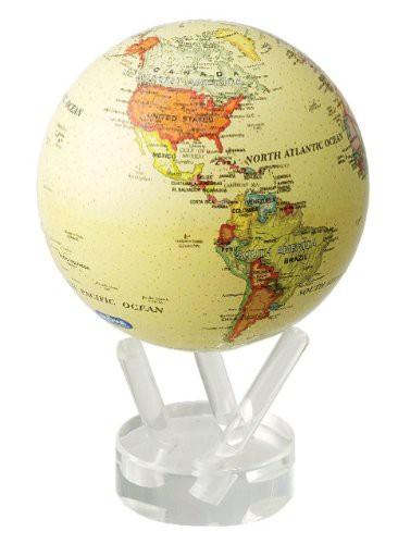 光で回る地球儀 ムーバグローブ MOVA Globe 4.5インチシリーズ(アンティーク)