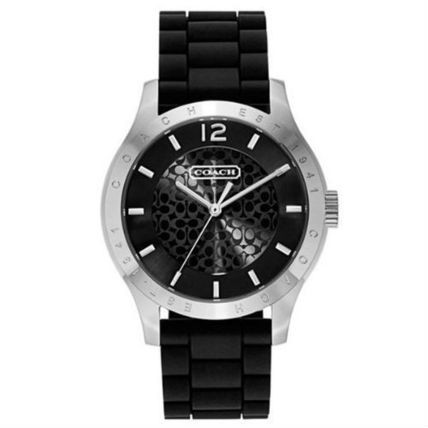 コーチ 腕時計 マディー レディース メンズ ユニセックス 時計 COACH MADDY シグネチャー ラバー ブラック 14501801
