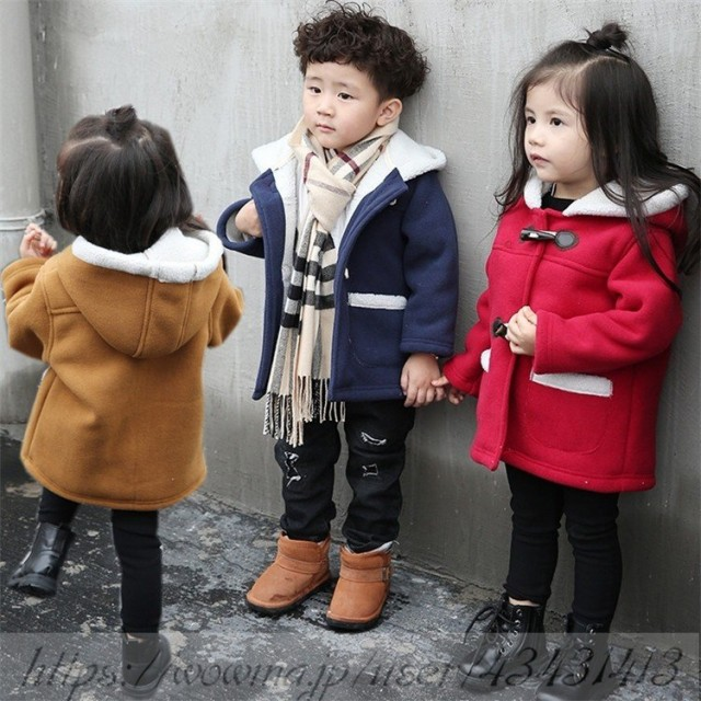 6fe3cb06ecaf5 ダッフルコート ベビー服 子供コート ジャケット キッズ コート 秋冬 お洒落 女の子 子供服 男の子 アウター あったか