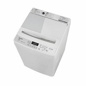 ハイセンス 全自動洗濯機 (洗濯7.5kg) HW−G75A ホワイト/ホワイト (標準設置無料)