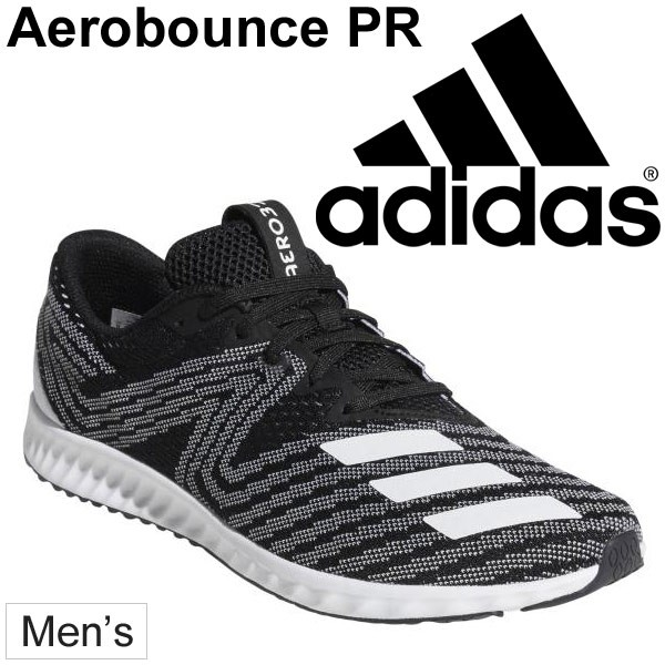 size 40 a5b8d cce89 adidas Aerobounce Pr Running Shoes Black Mens