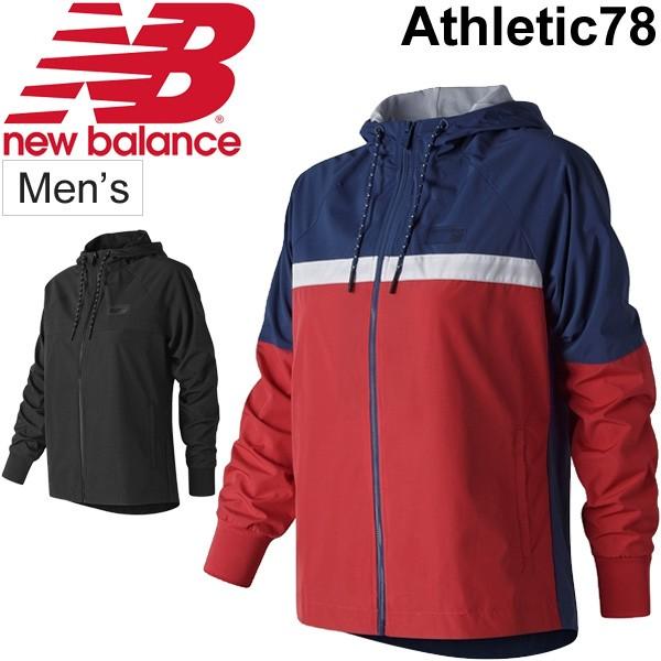 f5bba3794ab08 ウインドブレーカー ジャケット レディース/ニューバランス newbalance NBアスレチック78/ウインドブレイカ― 裏メッシュ