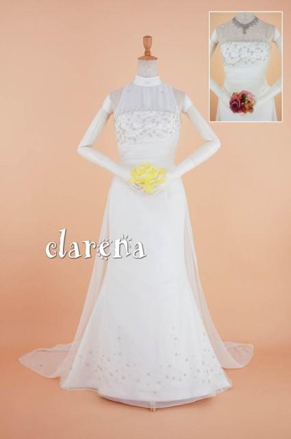 ab4c3f79d849e 結婚式ドレス  送料込 無料  カラードレス 白 二次会 花嫁 マーメイドライン ウエディング