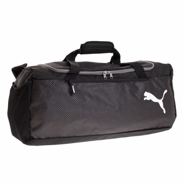 c29a406b85 PUMA Fundamentals Sports Bag M Puma Black Sacs de sport
