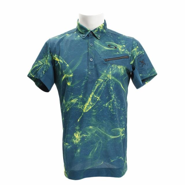 8b9e72aecf561 オークリー(OAKLEY)ゴルフウェア メンズ SKULL MYSTIFY 半袖シャツ 434177JP-68M (Men's