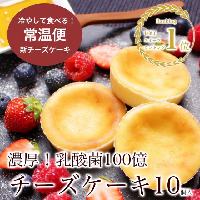 送料無料1000円 乳酸菌100億チーズケーキ10個入 スイーツ 訳ありでない