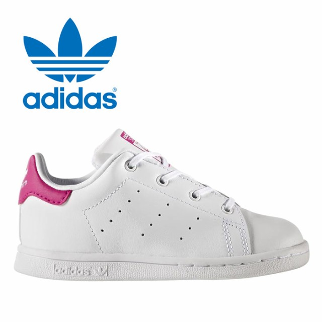 Adidas Stan Smith Infants/toddlers Shoes White/bold Pink Bb2999 High Quality Goods Baby & Toddler Clothing