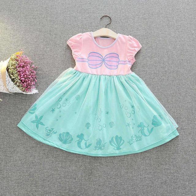 1bacb5f6748e9 子供向けのハロウィンコスチューム風のドレス 膝丈ドレス 膝丈ワンピース 半袖ドレス