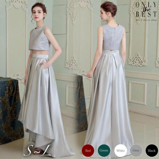 1ab51af0627d4 豪華花嫁フィッシュテールセパレートドレス 5色 カラードレス ロング カラードレス 大きいサイズ ウェディング
