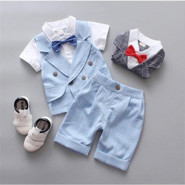 da4355bc008ab 子供服 ベスト 男の子 ポロシャツ 2点セット 発表会 フォーマル 半袖 半ズボン 演出服