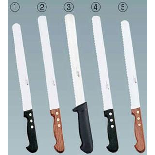【 パンスライサー 】 デグロン INOX パン切りナイフ 4 P柄 荒目 30 65140-30-C 【 食パン切りナイフ