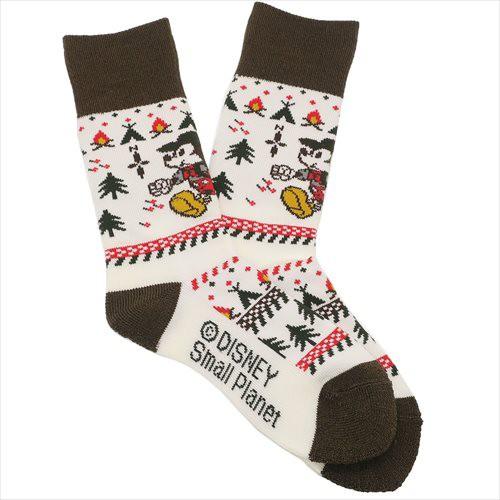 26f67c8ad8d0be ミッキーマウス 女性用靴下 レディース トレッキングソックス キャンプ ディズニー キャラクター グッズ