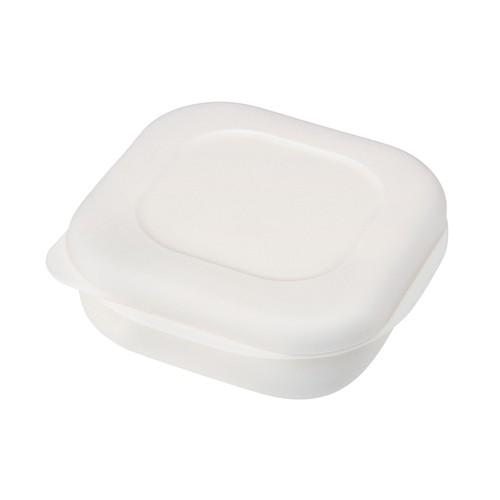 マーナ 極 冷凍ごはん容器2個入り  K748W ホワイ...