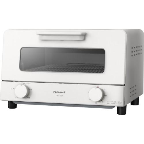 パナソニック オーブントースター NT-T501-W ホワ...